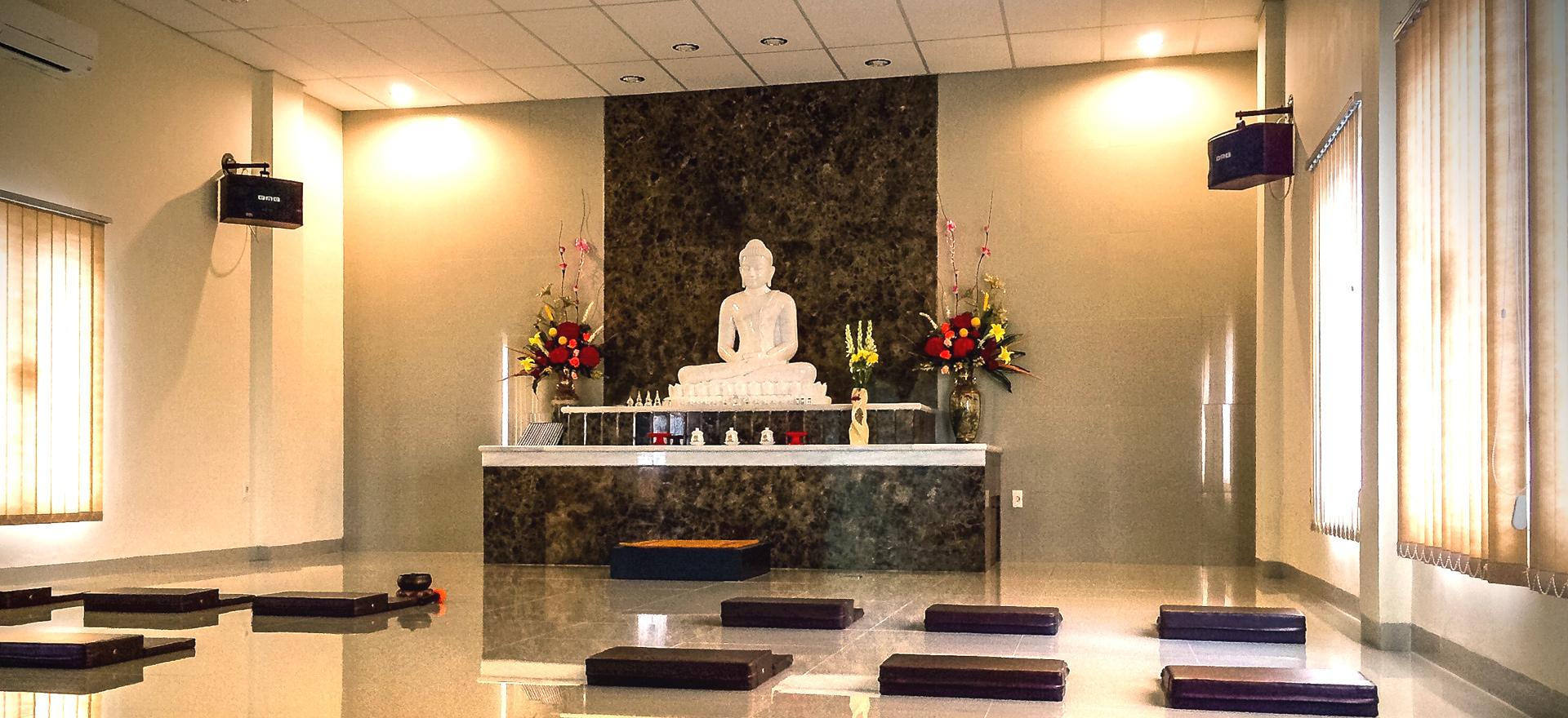 Buddha Rupam Kuti - Vihāra Dhammadāyāda